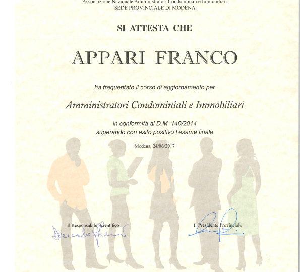 NOMINA DELL'AMMINISTRATORE NULLA SENZA CORSI DI AGGIORNAMENTO
